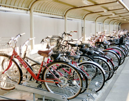 Parking your bike in Japan