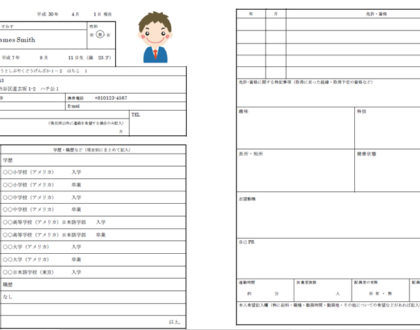 Japanese resume - How to Write your Rirekisho